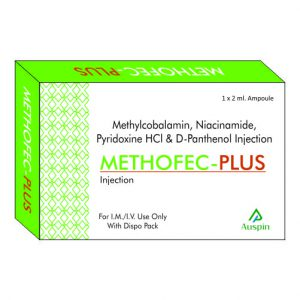 Methylcobalamin, Niacinamide, Pyridoxine HCL & D- Panthenol Injection