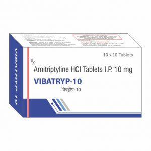 Amitriptyline HCL Tablets I.P 10 mg