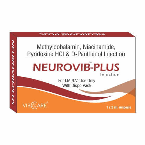 Methylcobalamin Pyridoxine Hcl and Nicotinamide| NEUROVIB PLUS