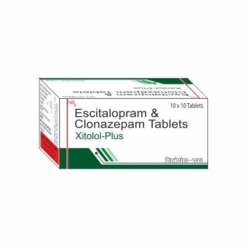 Escitalopram Clonazepam | XITOLOL PLUS - Vibcare Pharma