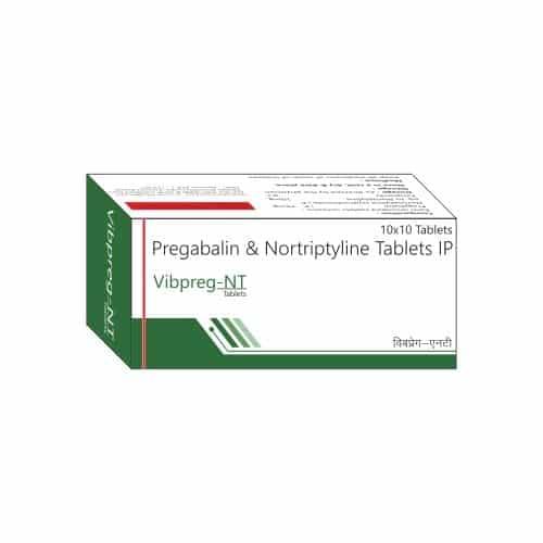 Pregabalin Nortriptyline   VIBPREG NT - Vibcare Pharma