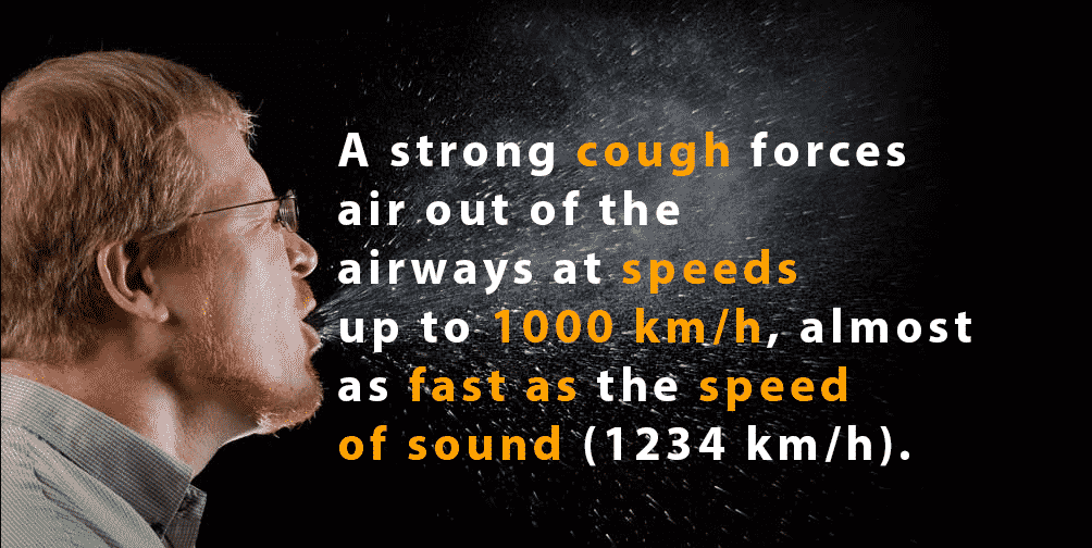 cough air speed