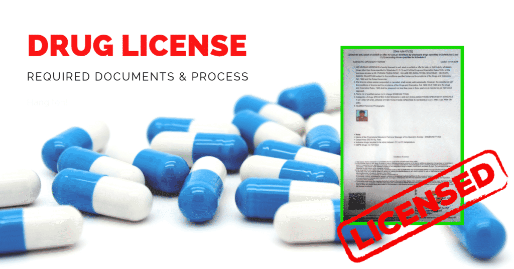 Wholesale Drug License Required Documents - Vibcare Pharma
