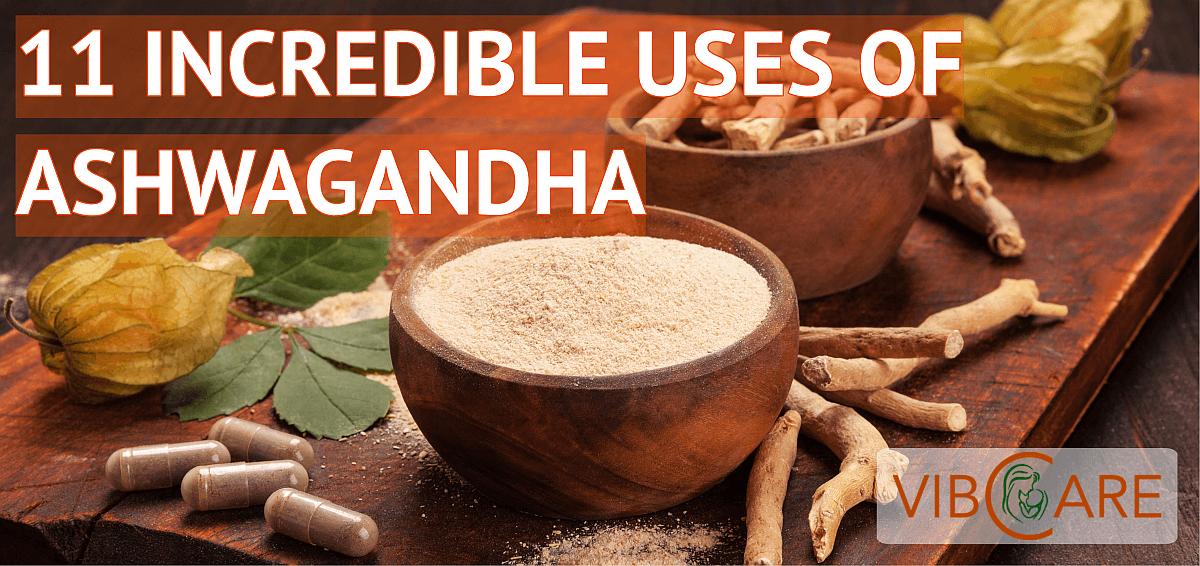 11 Incredible Uses of Ashwagandha - Vibcare Pharma