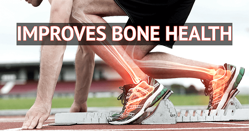 IMPROVES BONE HEALTH